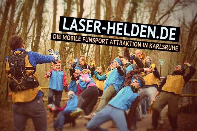 Laserhelden, Karlsruhe, Germany