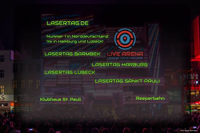 LaserTag Hamburg, Hamburg, Germany