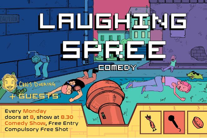 Laughing Spree Comedy, Berlin, Germany