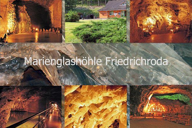 Marienglashoehle Friedrichroda, Friedrichroda, Germany