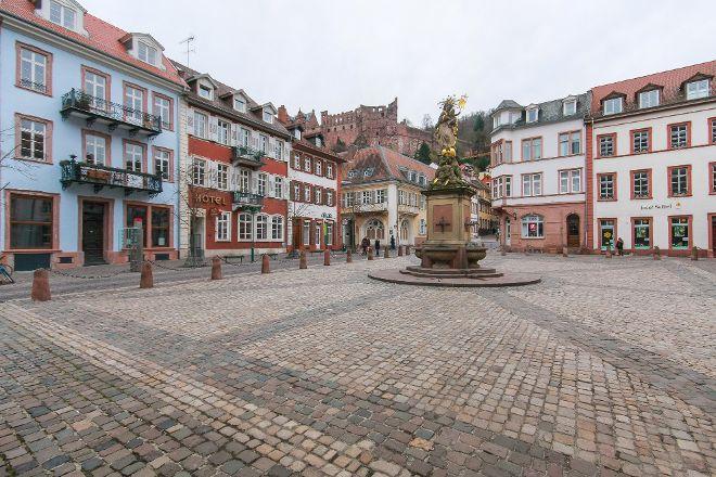 Market Square (Marktplatz), Heidelberg, Germany
