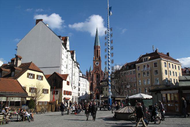 Markt am Wiener Platz, Munich, Germany