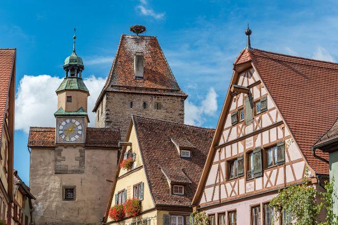 Markusturm and Buttelhaus, Rothenburg, Germany