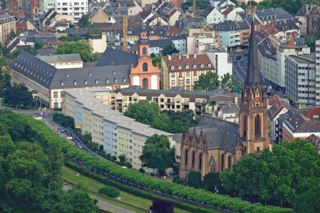 Museum Embankment, Frankfurt, Germany