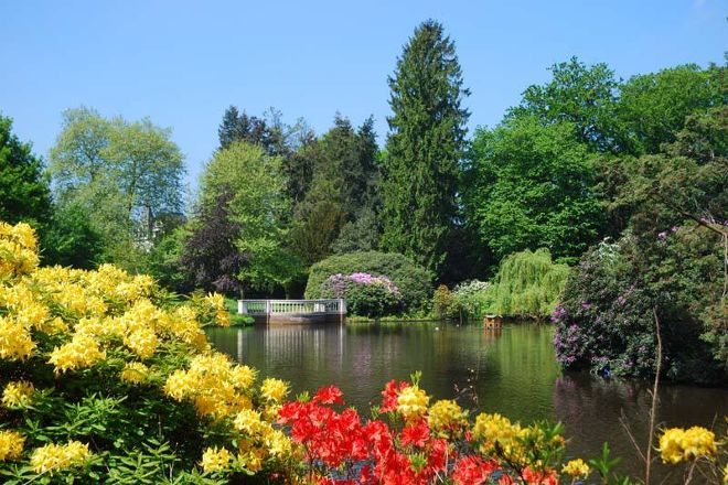 Oldenburger Schlossgarten, Oldenburg, Germany