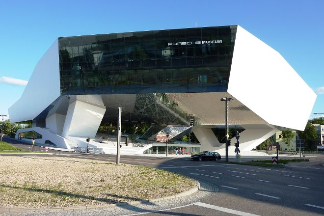 Porsche Museum, Stuttgart, Germany