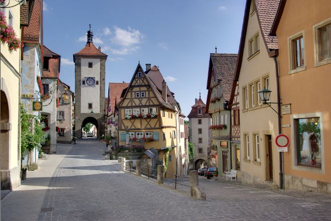 Rodertor, Rothenburg, Germany