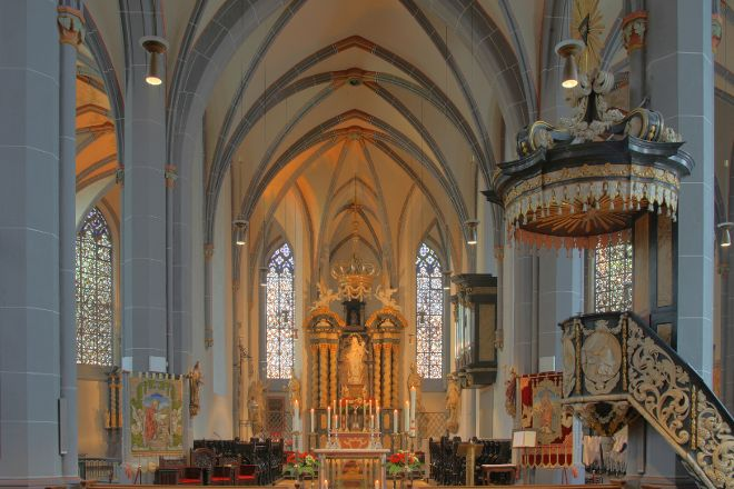 St. Lambertus Church, Dusseldorf, Germany