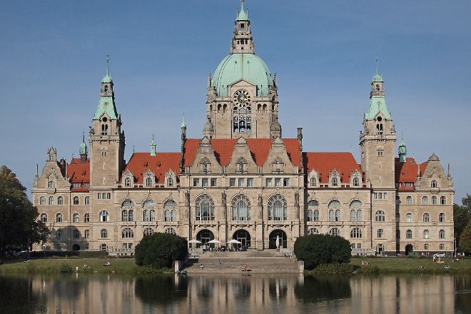 The New Town Hall, Hannover, Germany