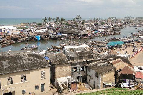 Elmina lagoon, Elmina, Ghana