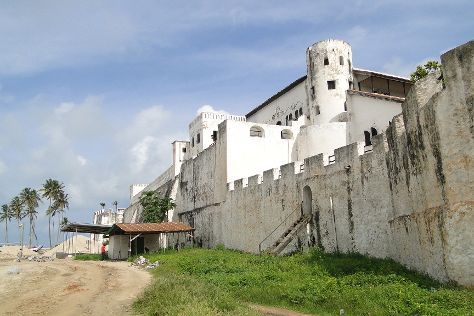 Forts and Castles, Volta, Greater Accra, Central and Western Regions, Volta Region, Ghana