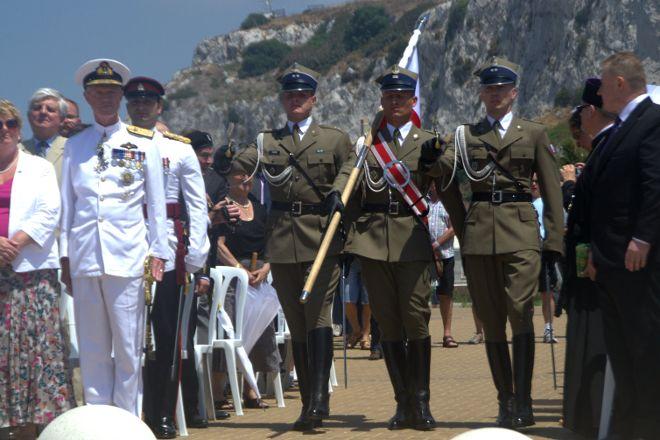 Sikorski Memorial, Gibraltar Town, Gibraltar