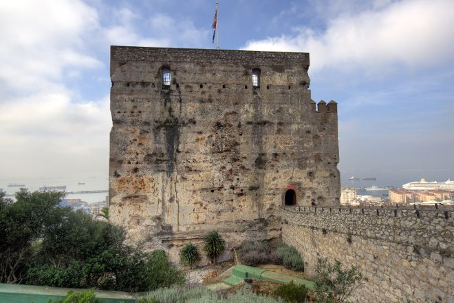 The Moorish Castle Complex (The Tower of Homage and The Gate House), Gibraltar