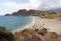 Damoni Beach, Rethymnon, Greece