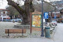 Metsovo Central Square, Metsovo, Greece