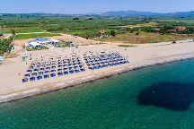 Pasir...on the waves All Day Beach Bar, Kalyves Polygyrou, Greece