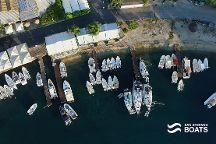 San Stefano Boats, Agios Stefanos, Greece