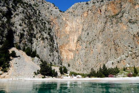 Agios Georgios Dysalona Beach, Symi, Greece