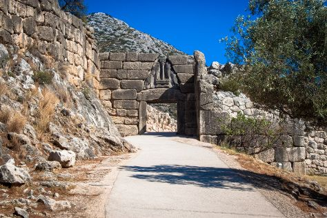 Archaeological Site Mycenae, Mycenae, Greece