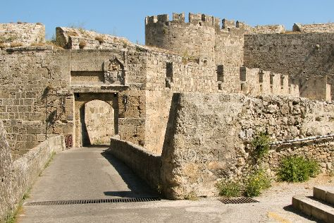 Medieval City, Rhodes Town, Greece