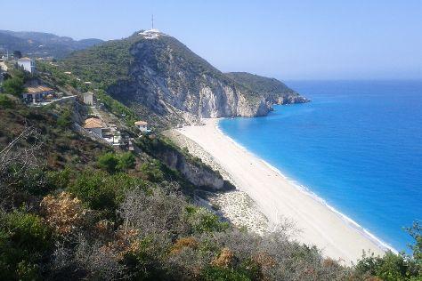 Milos Beach, Agios Nikitas, Greece