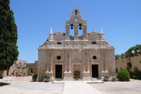 Monastery of Arkadi, Rethymnon, Greece