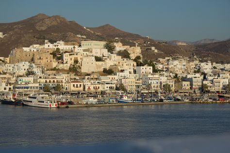 Old Town, Naxos Town, Greece