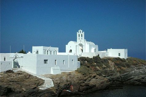 Panagia Chrissopigi, Sifnos, Greece