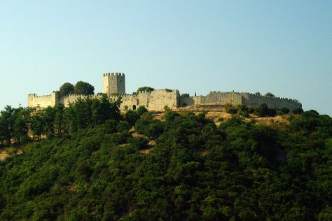 Platamonas Castle, Platamon, Greece