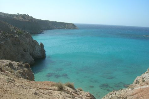 Tsigrado Beach, Milos, Greece