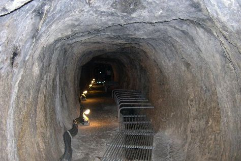 Tunnel of Eupalinos, Pythagorion, Greece