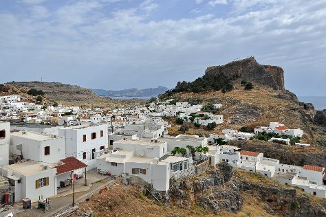 Village of Lindos, Lindos, Greece