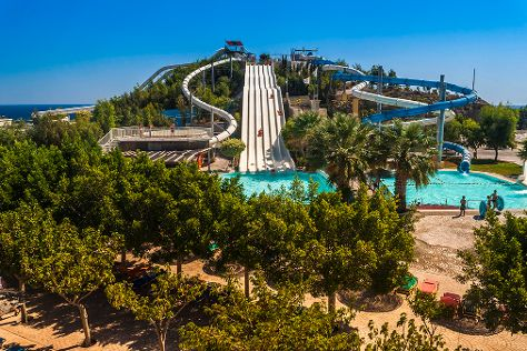 Water Park, Faliraki, Greece