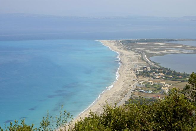 Agios Giannis Beach, Lefkada Town, Greece
