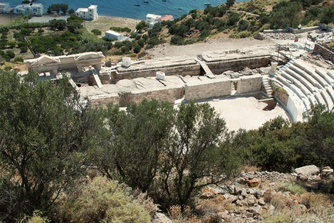 Ancient Roman Theatre - Milos, Tripiti, Greece