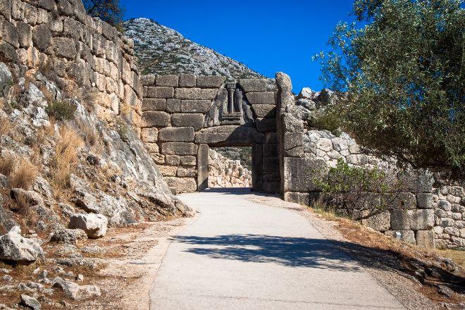 Archaeological Site Mycenae, Mycenae, Greece