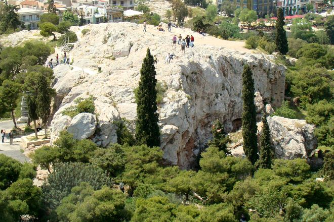Areopagus, Athens, Greece