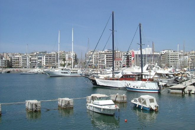 Bay of Zea (Pasalimani), Piraeus, Greece