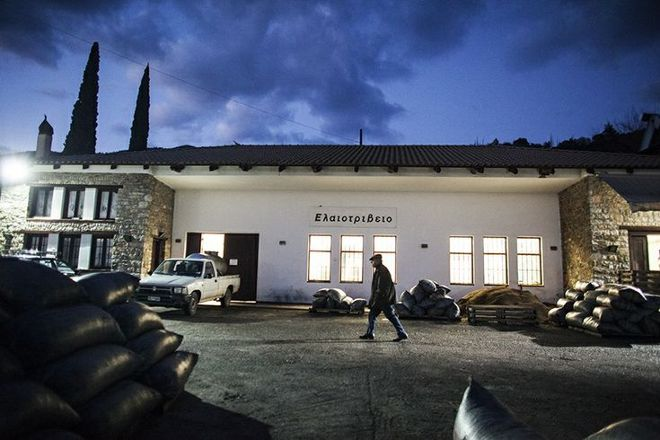 Ben (Benakopoulos) Olive Mill, Kalamata, Greece