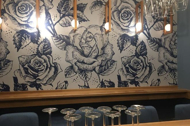Blue Rose Bar and Art Gallery, Athens, Greece