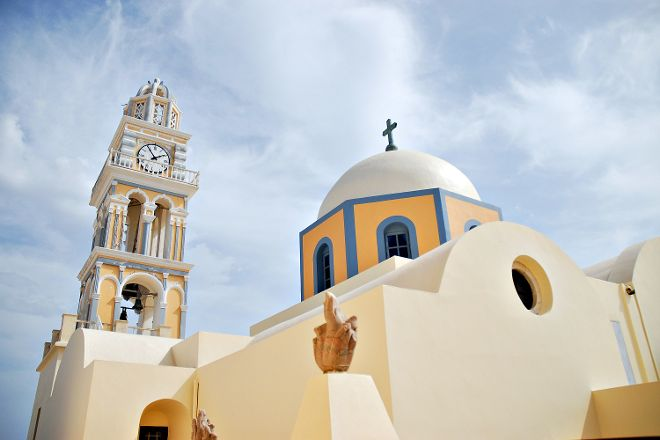 Cathedral of Saint John the Baptist, Fira, Greece