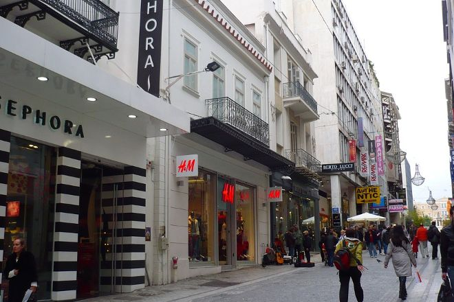 Ermou Street, Athens, Greece