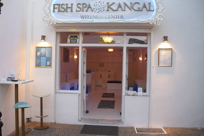 Fish Spa Kangal Santorini - Wellness Center, Fira, Greece