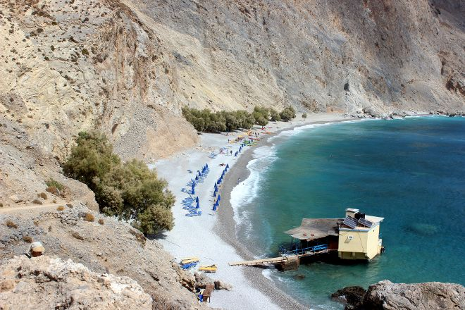 Glika Nera Beach, Sfakia, Greece