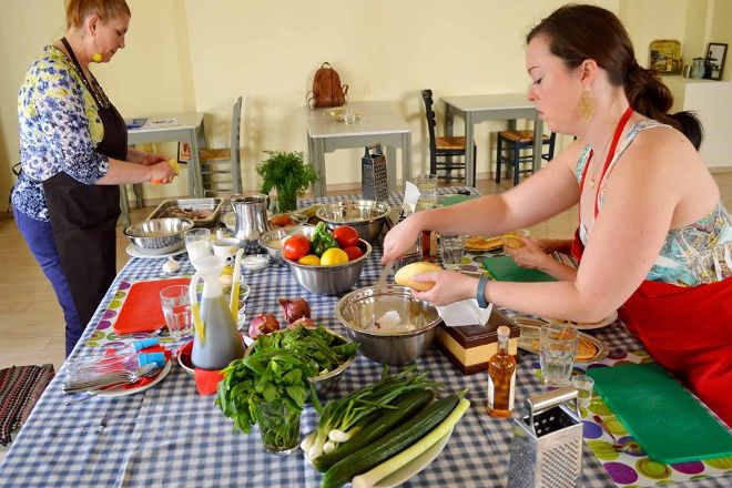 Greek Cooking Class, Athens, Greece