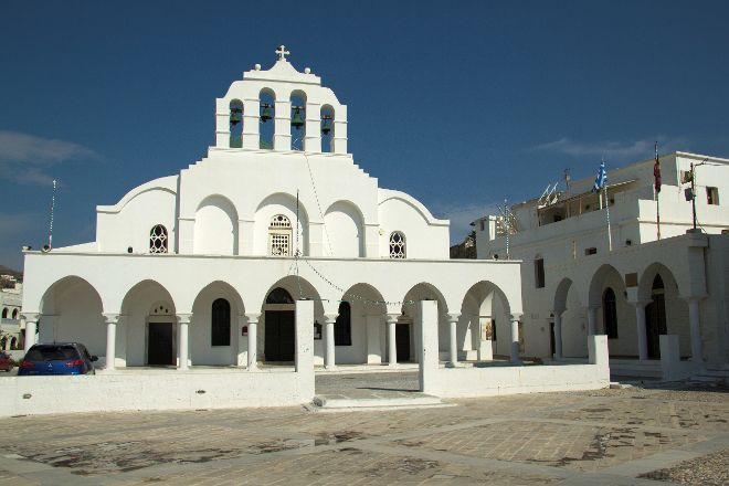 Greek Orthodox Cathedral, Naxos Town, Greece