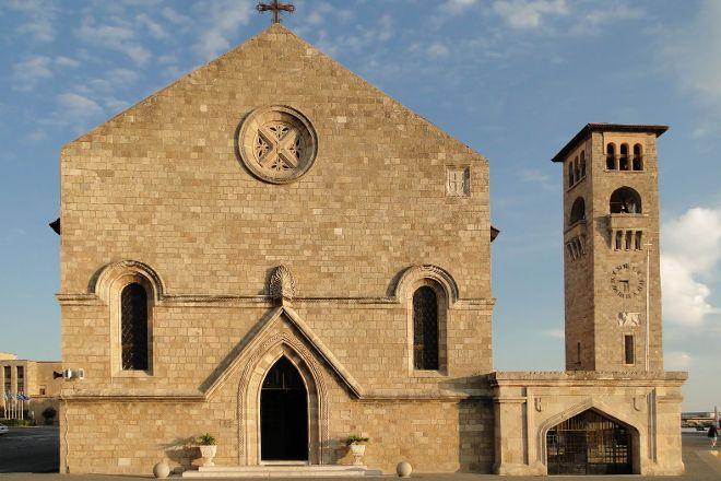 Ieros Naos Evaggelismoy ths Theotokoy, Rhodes Town, Greece