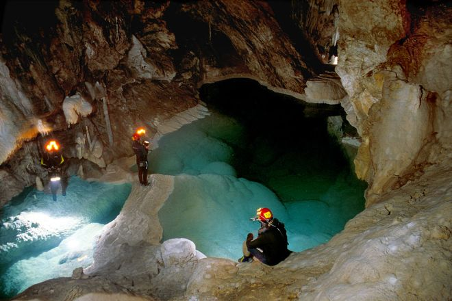 Kastria Cave of the Lakes, Kastria, Greece