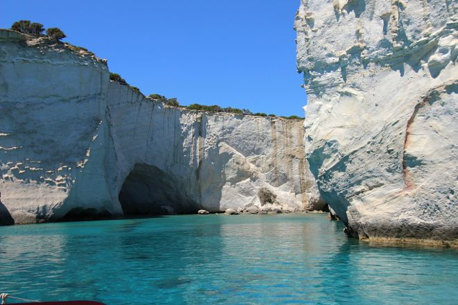 Kleftiko Beach, Milos, Greece