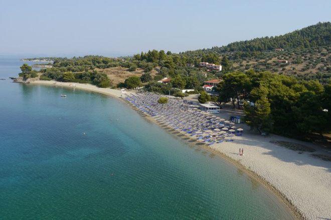 Lagomandra beach, Neos Marmaras, Greece